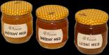 Dárková kolekce medů 3 x 0,25Kg cena 200,-Kč