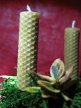 točená svíčka plást